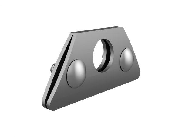 system przeciwśniegowy na rąbek stojący miedziany, bariera przeciwśniegowa, wspornik rury przeciwśniegowej miedziany aluminiowy