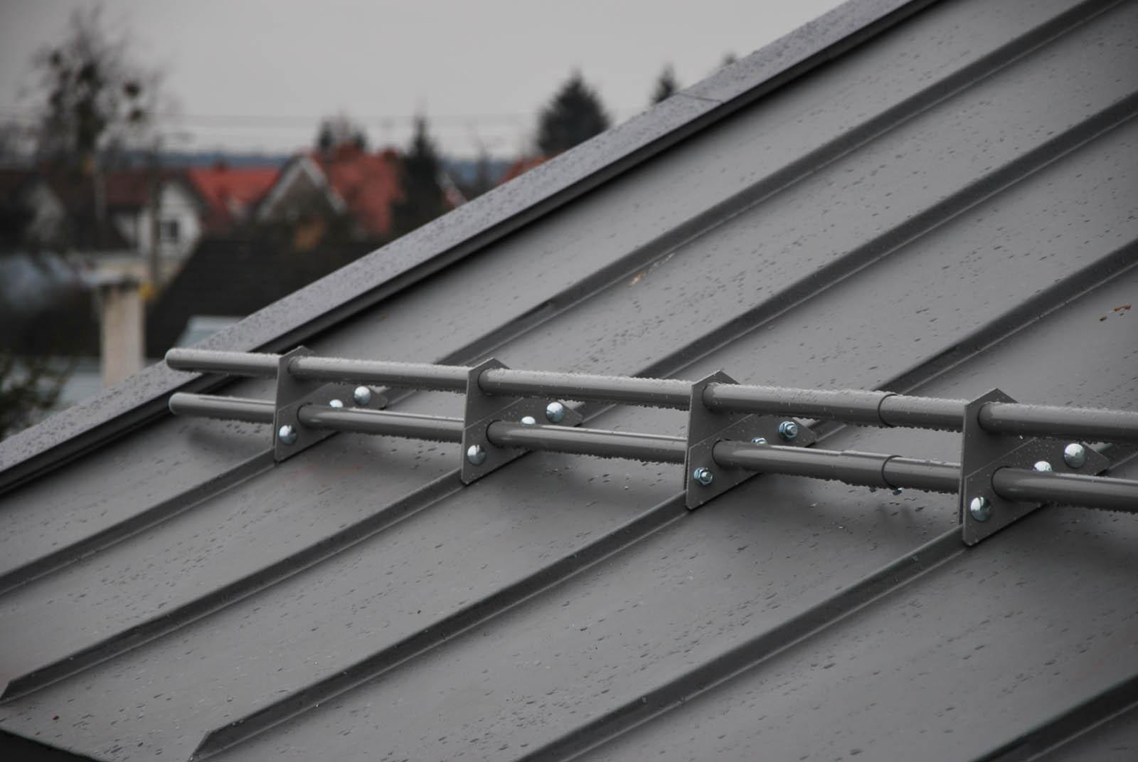 system przeciwśniegowy aluminium malowane