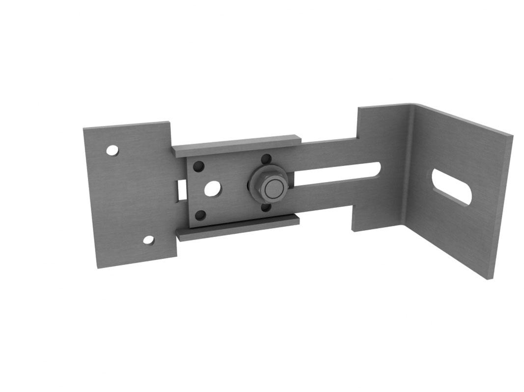 Konsola mocująca długa do podkonstrukcji aluminiowej