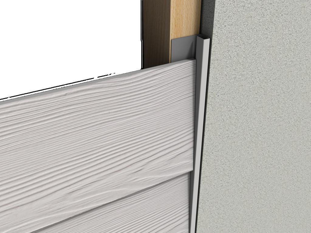 Profil boczny do elewacji wentylowanych | Systemy przeciwśniegowe I Komunikacja Dachowa I Fasady | CEDA