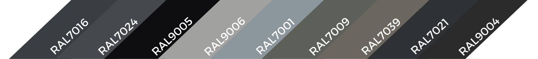 RAL7024 1 | Systemy przeciwśniegowe I Komunikacja Dachowa I Fasady | CEDA