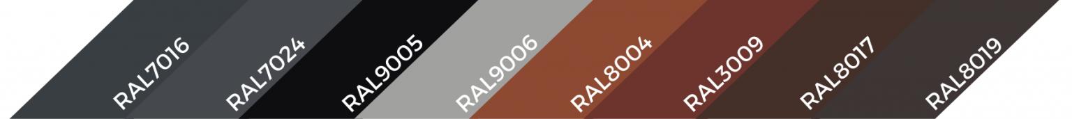 RAL7024 | Systemy przeciwśniegowe I Komunikacja Dachowa I Fasady | CEDA
